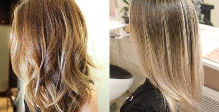 евушки в профиль волосы крашенные в стиле омбрэ