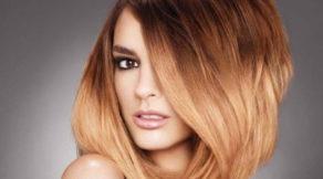 девушка крашеные волосы омбрэ