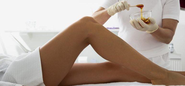 женские ноги депиляция