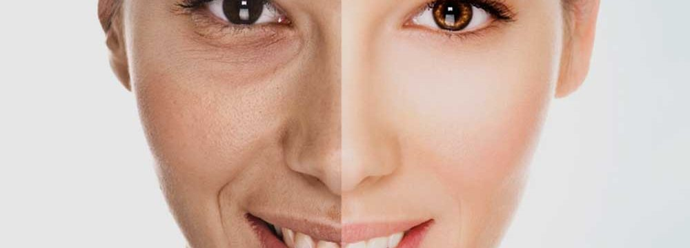 коллаж лицо девушка женщина возраст