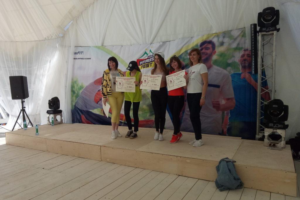Фестиваль фитнеса в Лобне
